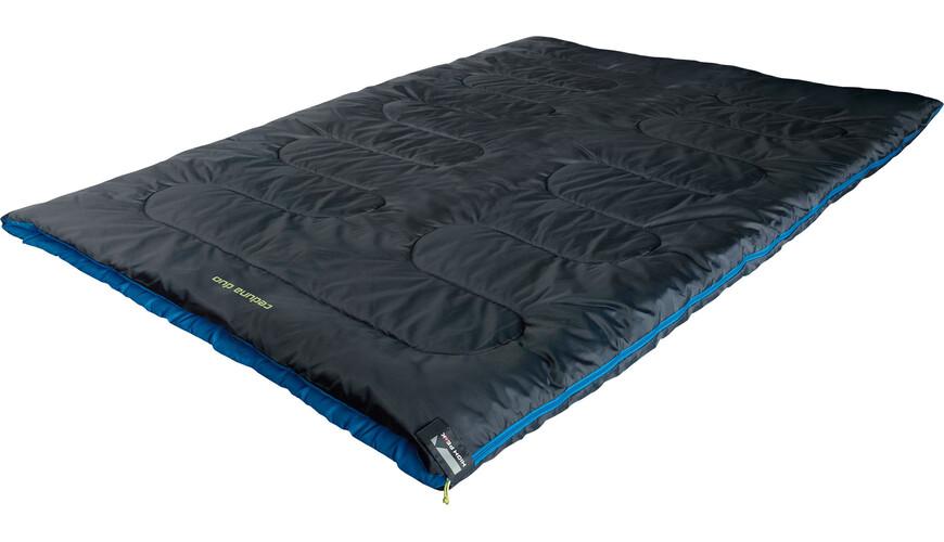 High Peak Ceduna Duo Sleeping Bag anthrazit/blau